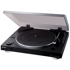 Table Tournante Sony 33 et 1/3 et 45 RPM USB PS-LX300USB