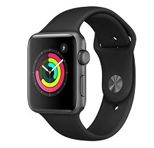 Montre Intelligente Apple Watch Serie 3 (42mm) Gris Cosmique MQL12CL/A