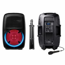 Haut-Parleur ION Bluetooth Total PA GLOW2 400 Watts