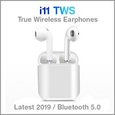 Wireless Earbuds Binaural Bluetooth 5.0 TWS-i11 - NEW