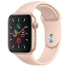 Montre Intelligente Apple Watch Serie 5 44mm Rose MWVE2VC/A - NEUF