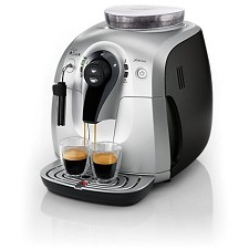 Capuccino Machine Saeco XSMALL Plus HD8745/47 - Sliver & Black Refurb.