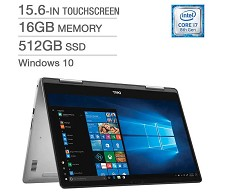 Dell Inspiron 7573 2-in-1 15.6'' i7-8550U 512GB SSD 16GB RAM Win 10