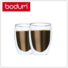 Bodum 4559-10US4 Pavina Double Wall Glasses Set of 2 12oz