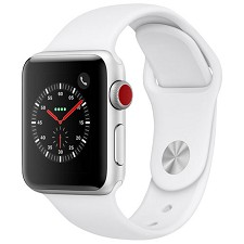 Montre Apple Watch Serie 3 38mm (GPS/CELL) Blanc Alumi MTGG2CL/A neuf