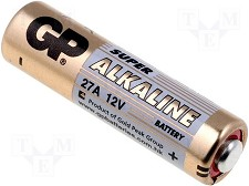 Batterie GP Alcaline Haut Voltage 27A MN27 qty1