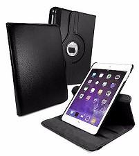 Apple iPad Air 2 et Pro 9.7 Rotating Book Case - Black