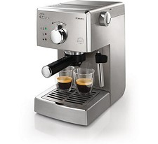 Manual Capuccino Machine Saeco Poemia Cappuccino HD8327/47 - NEW